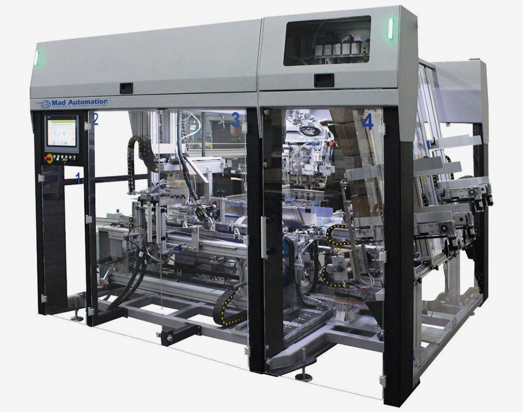 Fully Automatic Case Packer